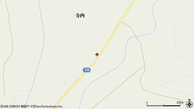 山形県尾花沢市寺内952周辺の地図