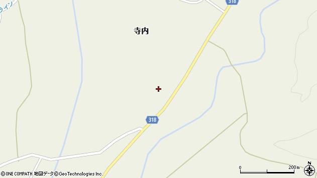 山形県尾花沢市寺内955周辺の地図