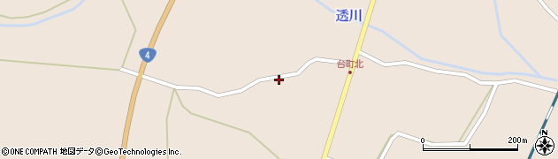 宮城県栗原市高清水向野周辺の地図