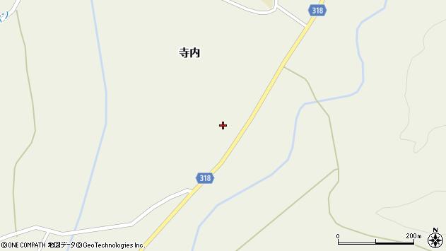 山形県尾花沢市寺内956周辺の地図