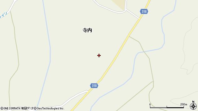 山形県尾花沢市寺内966周辺の地図