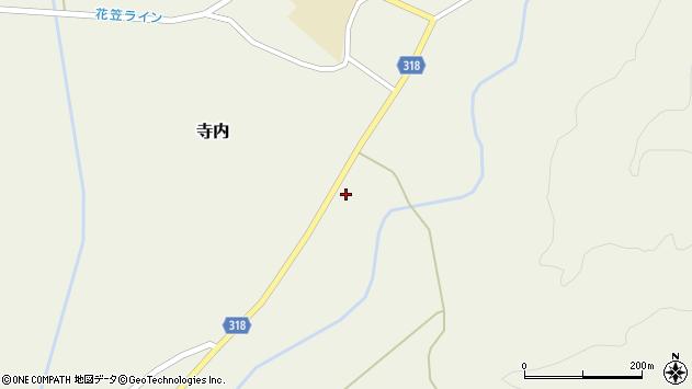 山形県尾花沢市寺内838周辺の地図