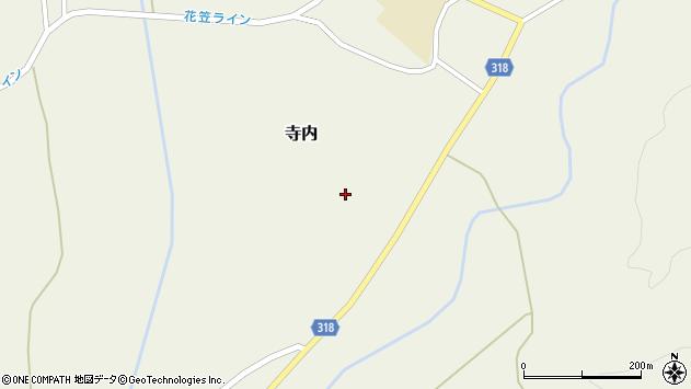 山形県尾花沢市寺内977周辺の地図