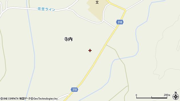山形県尾花沢市寺内993周辺の地図