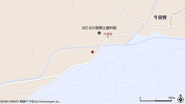 山形県尾花沢市牛房野748周辺の地図