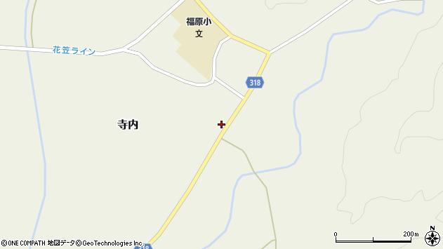 山形県尾花沢市寺内1002周辺の地図