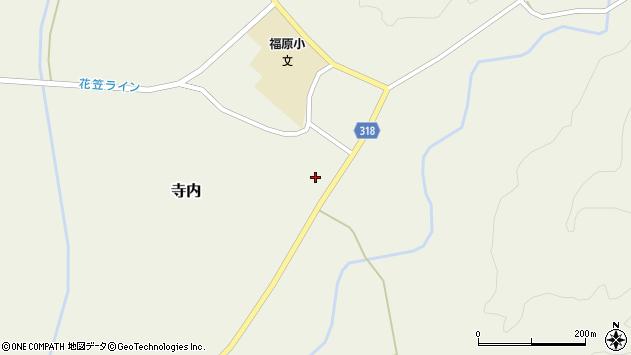 山形県尾花沢市寺内1009周辺の地図