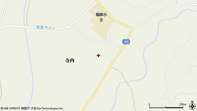 山形県尾花沢市寺内1000周辺の地図