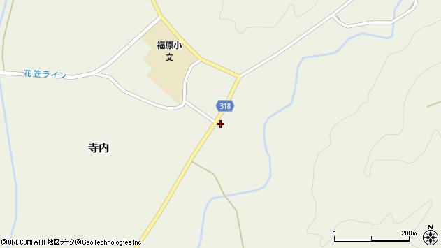 山形県尾花沢市寺内828周辺の地図