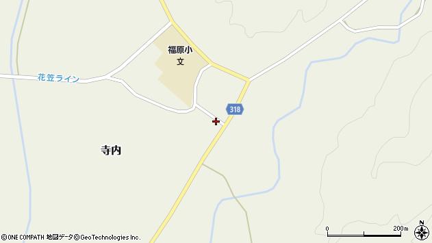 山形県尾花沢市寺内1018周辺の地図
