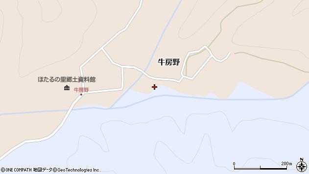 山形県尾花沢市牛房野308周辺の地図