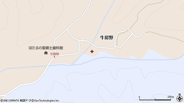 山形県尾花沢市牛房野307周辺の地図