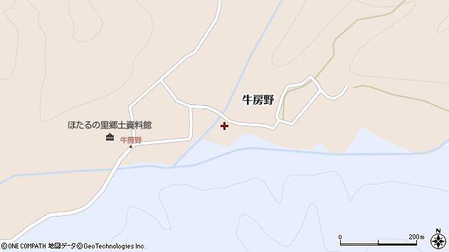 山形県尾花沢市牛房野306周辺の地図