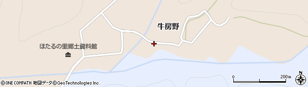 山形県尾花沢市牛房野309周辺の地図