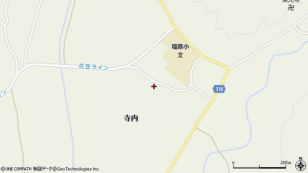 山形県尾花沢市寺内1253周辺の地図