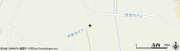 山形県尾花沢市寺内2499周辺の地図