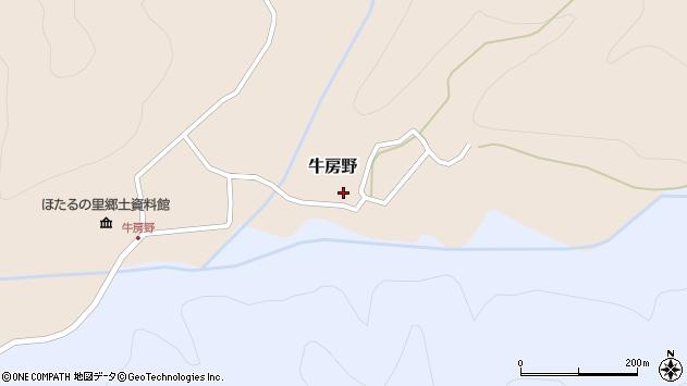 山形県尾花沢市牛房野294周辺の地図