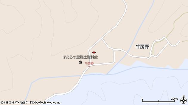 山形県尾花沢市牛房野585周辺の地図