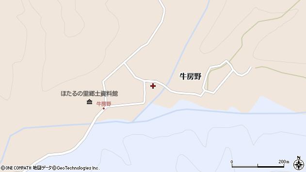 山形県尾花沢市牛房野303周辺の地図