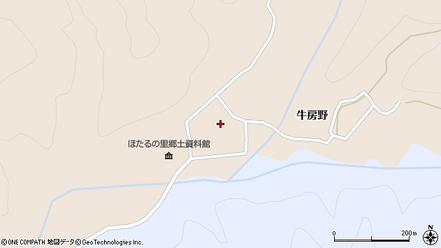 山形県尾花沢市牛房野565周辺の地図
