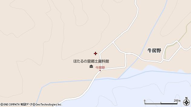 山形県尾花沢市牛房野588周辺の地図