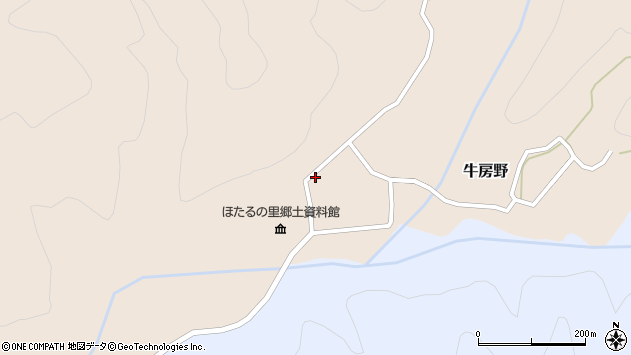 山形県尾花沢市牛房野586周辺の地図