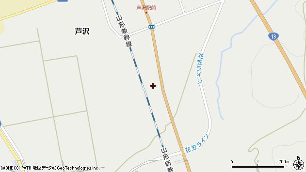 山形県尾花沢市芦沢1068周辺の地図