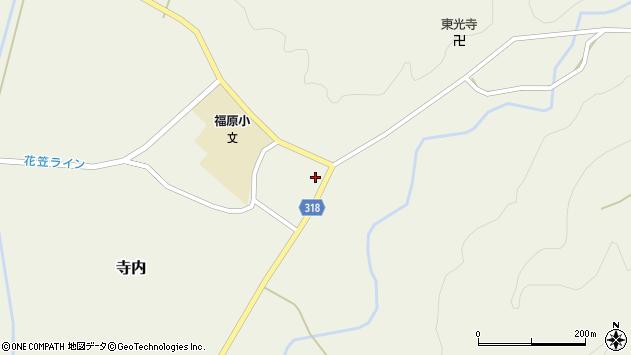 山形県尾花沢市寺内1056周辺の地図