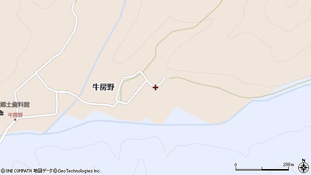 山形県尾花沢市牛房野193周辺の地図