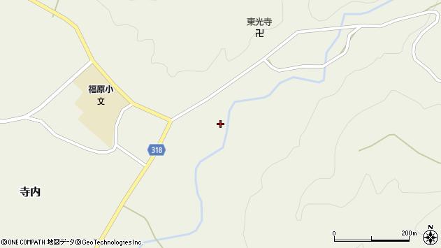 山形県尾花沢市寺内723周辺の地図
