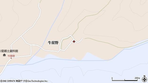 山形県尾花沢市牛房野220周辺の地図