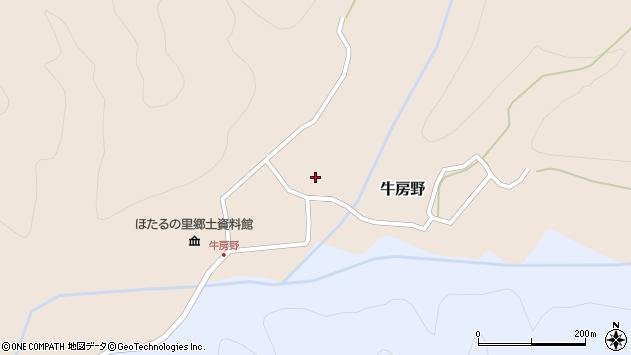 山形県尾花沢市牛房野528周辺の地図