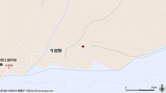 山形県尾花沢市牛房野221周辺の地図
