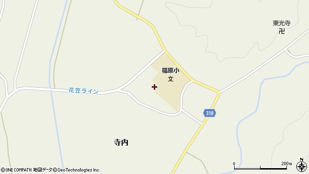 山形県尾花沢市寺内1174周辺の地図
