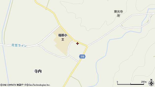 山形県尾花沢市寺内1061周辺の地図