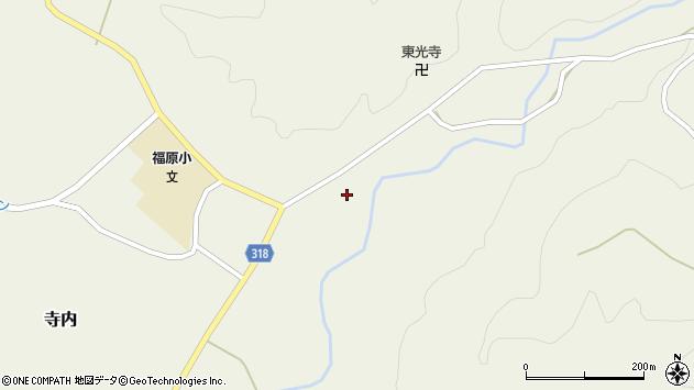 山形県尾花沢市寺内721周辺の地図