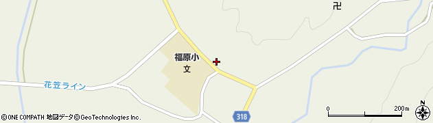 山形県尾花沢市寺内1076周辺の地図