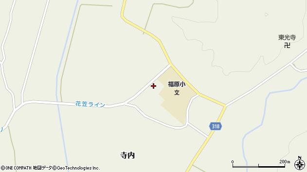 山形県尾花沢市寺内1178周辺の地図