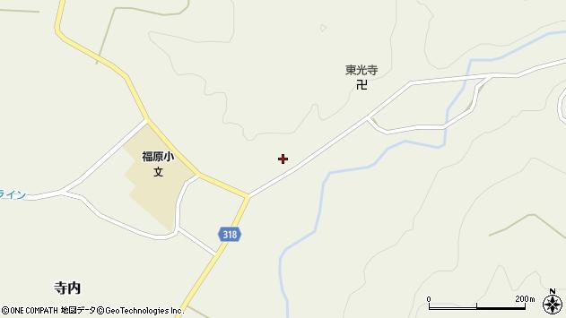 山形県尾花沢市寺内716周辺の地図