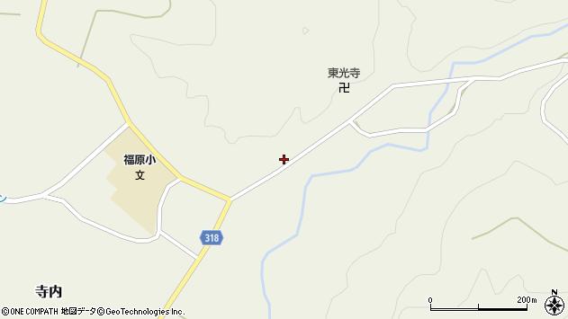 山形県尾花沢市寺内708周辺の地図