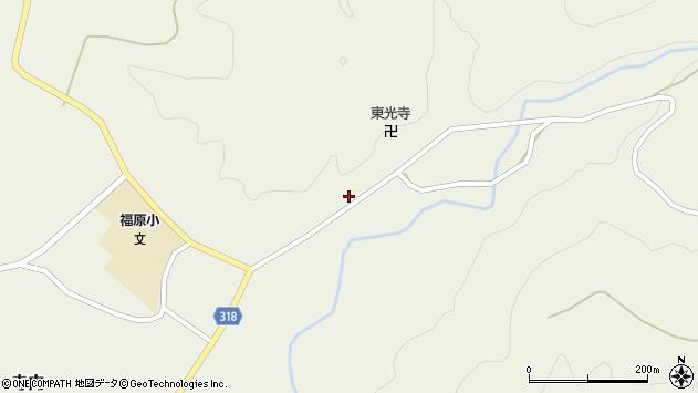 山形県尾花沢市寺内682周辺の地図