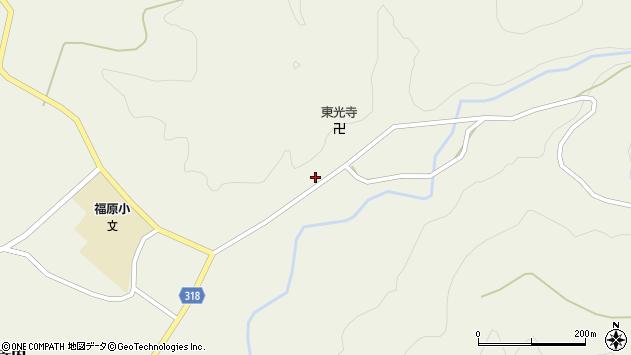 山形県尾花沢市寺内691周辺の地図