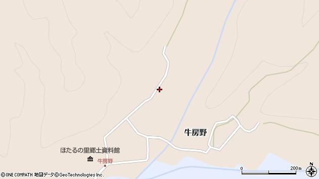山形県尾花沢市牛房野504周辺の地図
