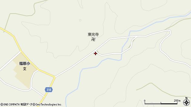 山形県尾花沢市寺内685周辺の地図