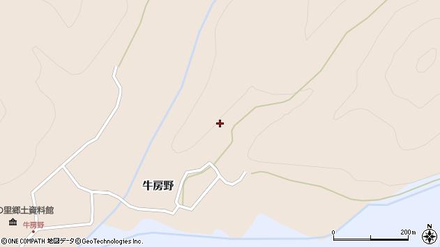 山形県尾花沢市牛房野228周辺の地図