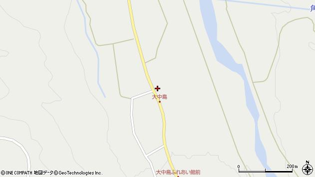山形県東田川郡庄内町立谷沢大谷70周辺の地図
