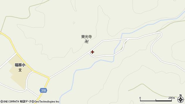 山形県尾花沢市寺内677周辺の地図