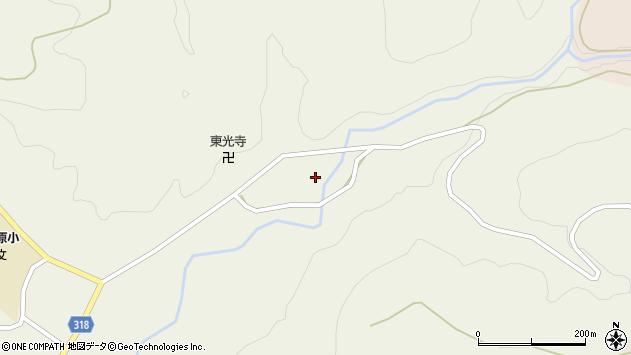 山形県尾花沢市寺内606周辺の地図