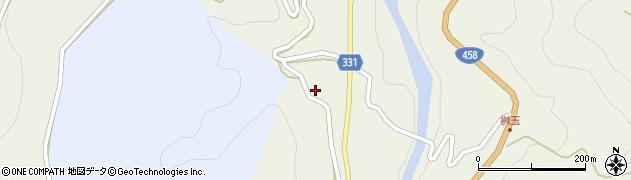 山形県最上郡大蔵村赤松1337周辺の地図