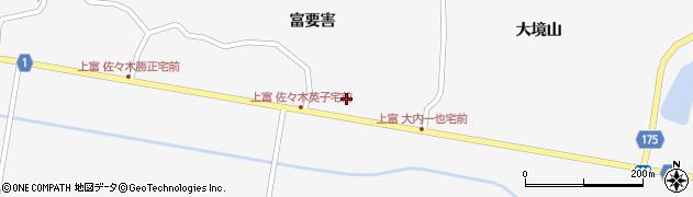 宮城県栗原市瀬峰坂ノ下前北周辺の地図